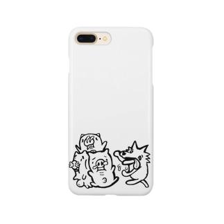 三匹の子豚 Smartphone cases