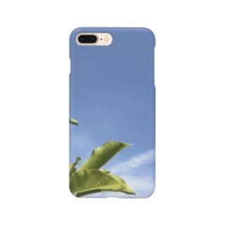 新緑と青空 Smartphone cases