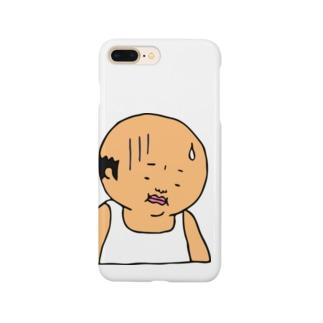 おやじの哀愁 Smartphone cases