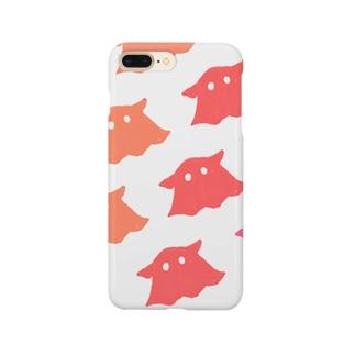 めんだこ(白) Smartphone cases