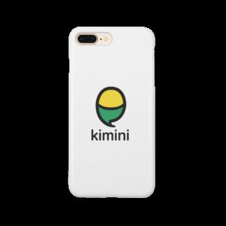 Kiminiオンライン英会話 オフィシャルストアのKimini Quote with Logo Smartphone cases