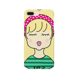 182_girl!! Smartphone cases
