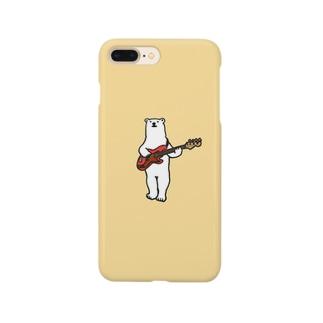 しろくまベース iPhoneケース Smartphone cases