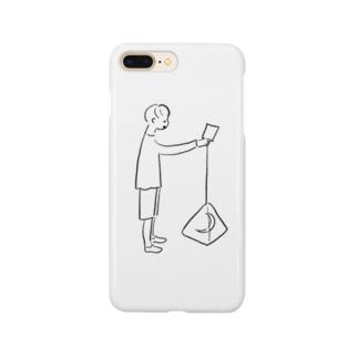 三日月観測 Smartphone cases