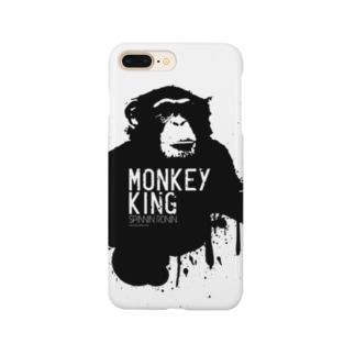MONKEY KING_BLACK Smartphone cases