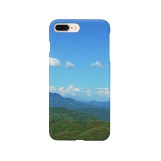 初夏の空 Smartphone cases