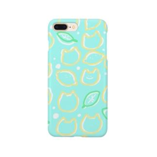 ぽいねこさわやかすまーとふぉんけーす Smartphone cases