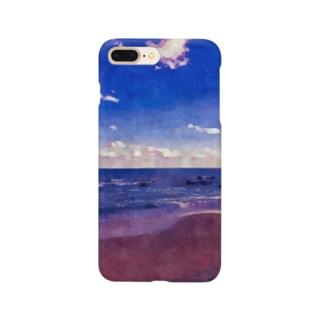 外房の海 Smartphone cases