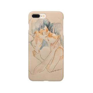 「おやすみなさい」 Smartphone cases