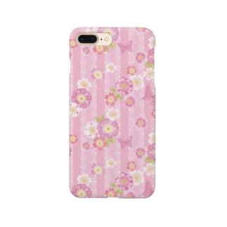 和桜ピンク Smartphone cases