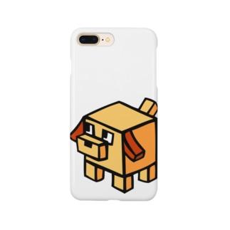 キューブ犬 Smartphone cases