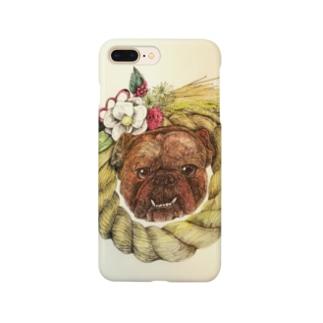 新春dog Smartphone cases
