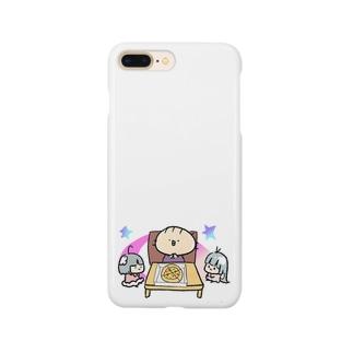 みんなで食べるとおいしいね Smartphone cases