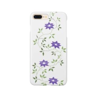 鉄扇の花 Smartphone cases