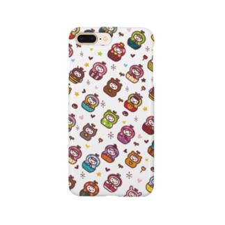 KF STUDIOのマトリョーシカ Smartphone cases