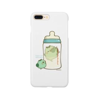 chackmo かっぱさん(哺乳瓶) Smartphone cases