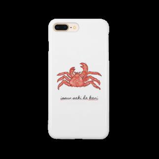 福人ずけの一寸先は蟹 スマートフォンケース