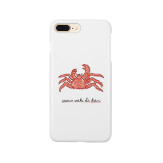 福人ずけの一寸先は蟹 Smartphone cases