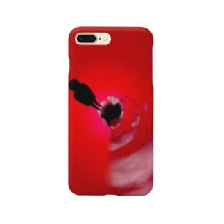 少女の赤い症状 Smartphone cases