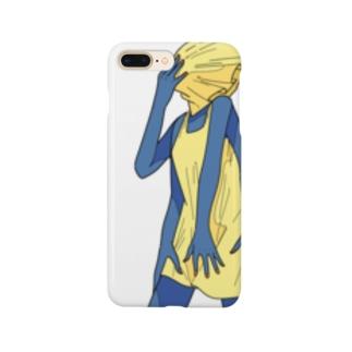 四本腕でしっかりガード Smartphone cases