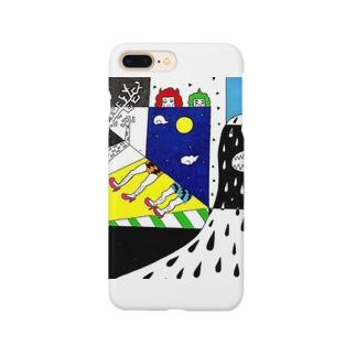 シャドーMonsterと鬼っ子 Smartphone cases