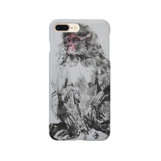 瞑想ニホンザル2018 Smartphone cases