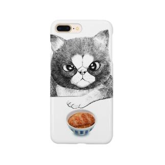 カツ丼食うか? Smartphone cases