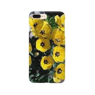 お庭にポイント Smartphone cases