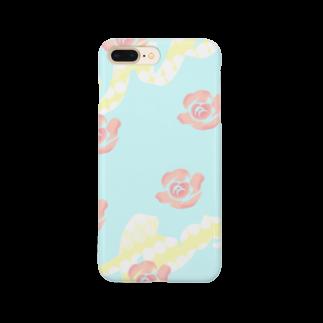 NORIMA'S SHOP のバラのパターン Smartphone cases