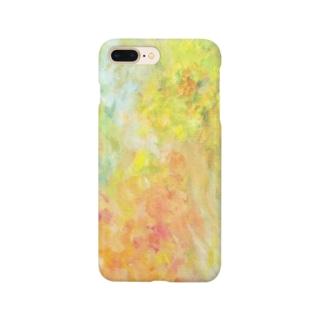 油彩_切り抜き Smartphone cases