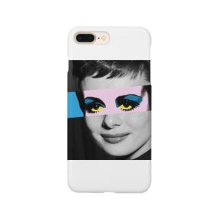 ツイッギー・ヘプバーン Smartphone cases