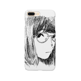 a girl seeing you Smartphone cases