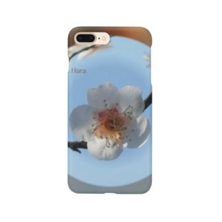 光景 sight737 梅  花 FLOWERS  宙玉(そらたま) Smartphone cases
