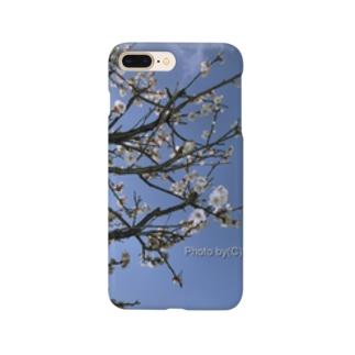 光景 sight738 梅  花 FLOWERS スマートフォンケース