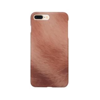 綾四季/猫の毛色柄007 Smartphone cases