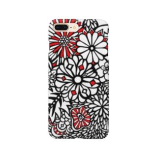 BENITANGLE赤黒* Smartphone cases