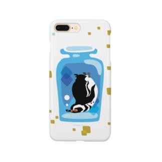 ペンギンの瓶詰めM Smartphone cases