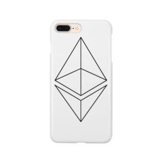 イーサリアム ETH3 Smartphone cases