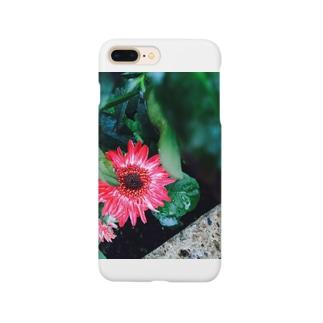 庭に華 Smartphone cases