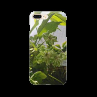 ゆるかふぇおんらいんの御衣黃桜 Smartphone cases