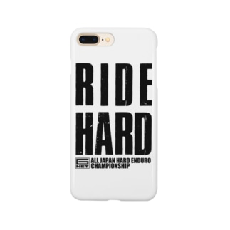 G-NET OFFICIAL GOODS RIDE HARD  スマートフォンケース