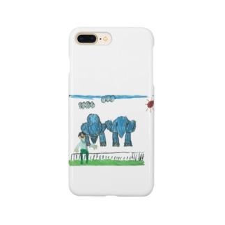 りしゆな:ゾウさん by はせりょう Smartphone cases