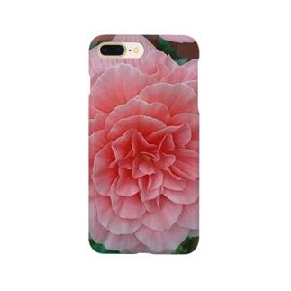 幾重にも重なるピンク Smartphone cases