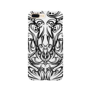楓の森のイーグル Smartphone cases