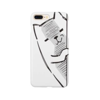 にゃんぺろう ニヤリ Smartphone cases