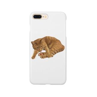 肉球めけ Smartphone cases