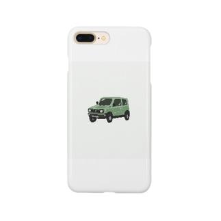 ドットクロカン車 Smartphone cases