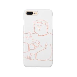 猫にキスボーイ Smartphone cases