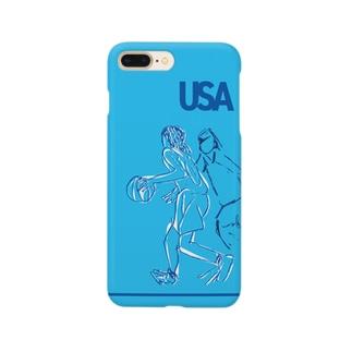 バスケ部4 Smartphone cases