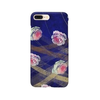バラのイラスト Smartphone cases